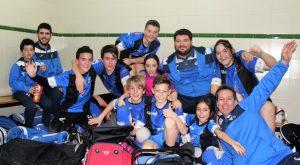 El CHP Cájar Benjamin celebra su título de liga
