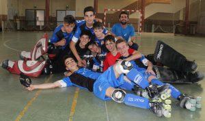 El equipo infantil del Patín Cájar campeón de Copa